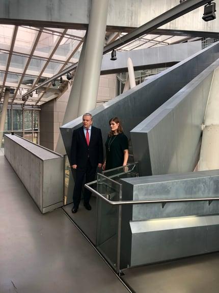 Dr. Michael Freytag, Schufa // innosabi CEO Catharina van Delden